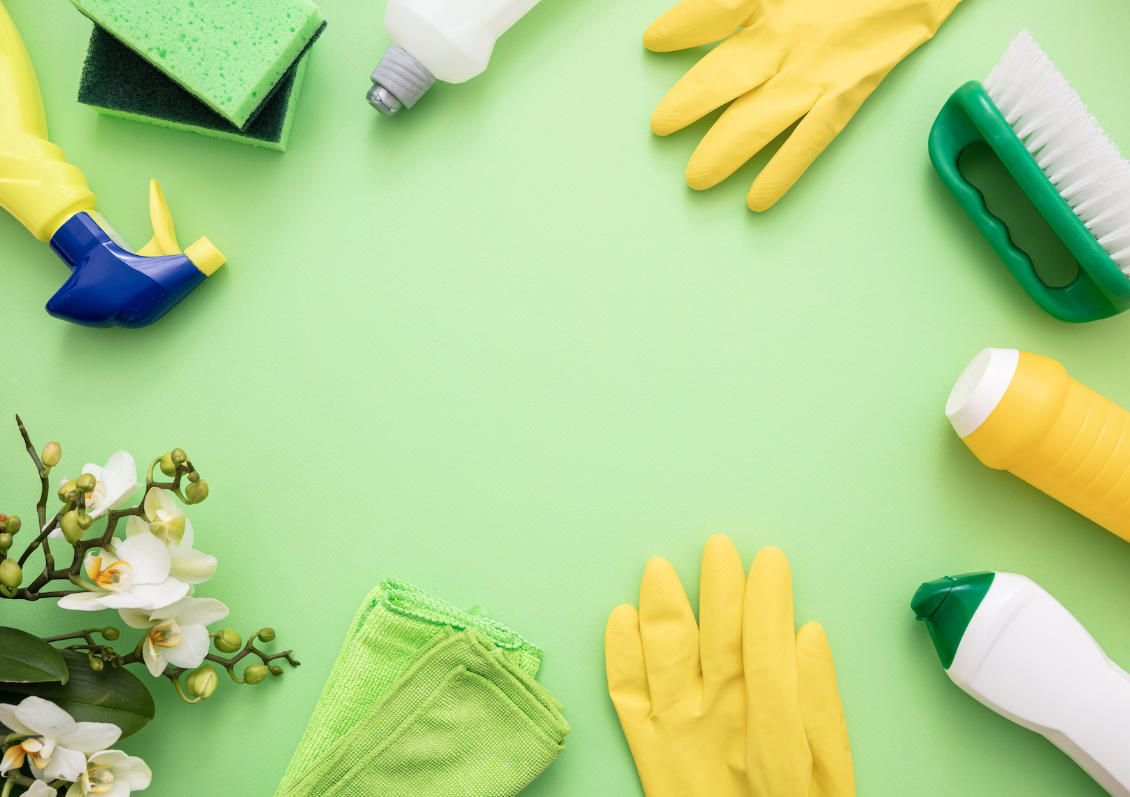 How To Make Your Own Homemade Cleaning Products Image