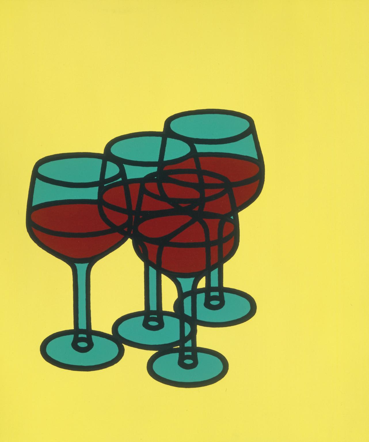 Wine Glasses, 1969 Image