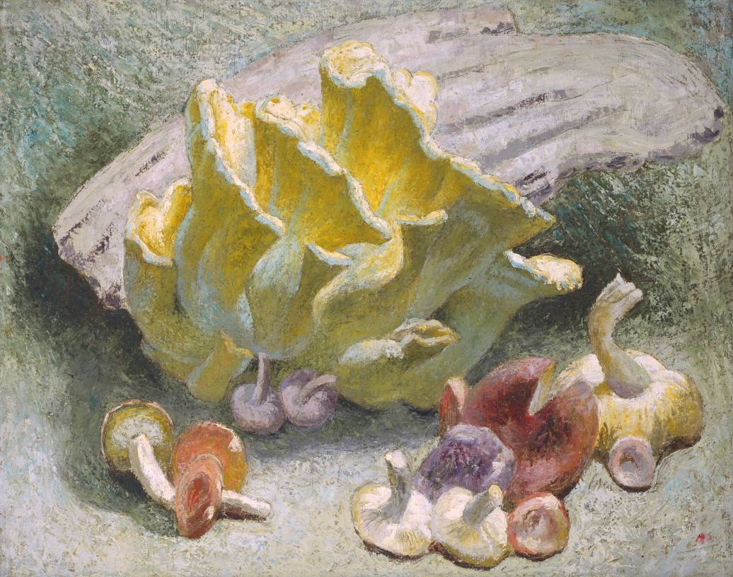 Still Life with Yellow Fungus Image
