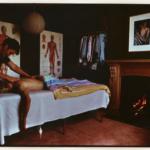 Man being massaged Image
